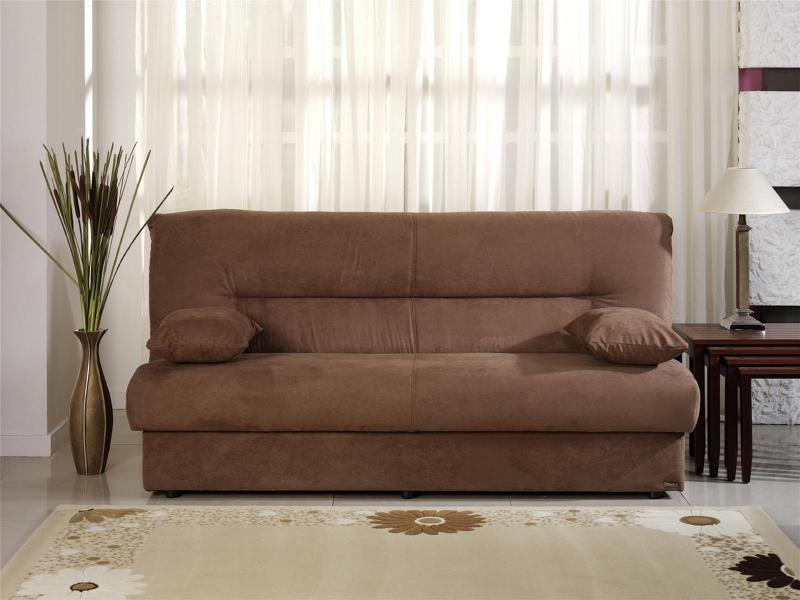 Image of: Convertible Sofa Bed with Storage Covers