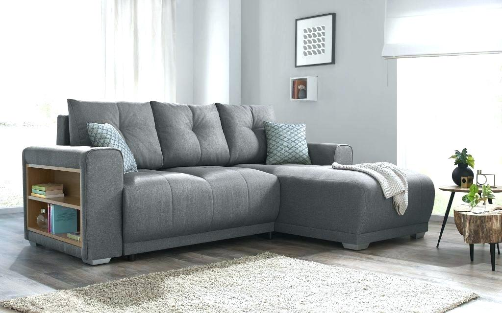 Image of: Convertible Sofa Bed with Storage and Rack