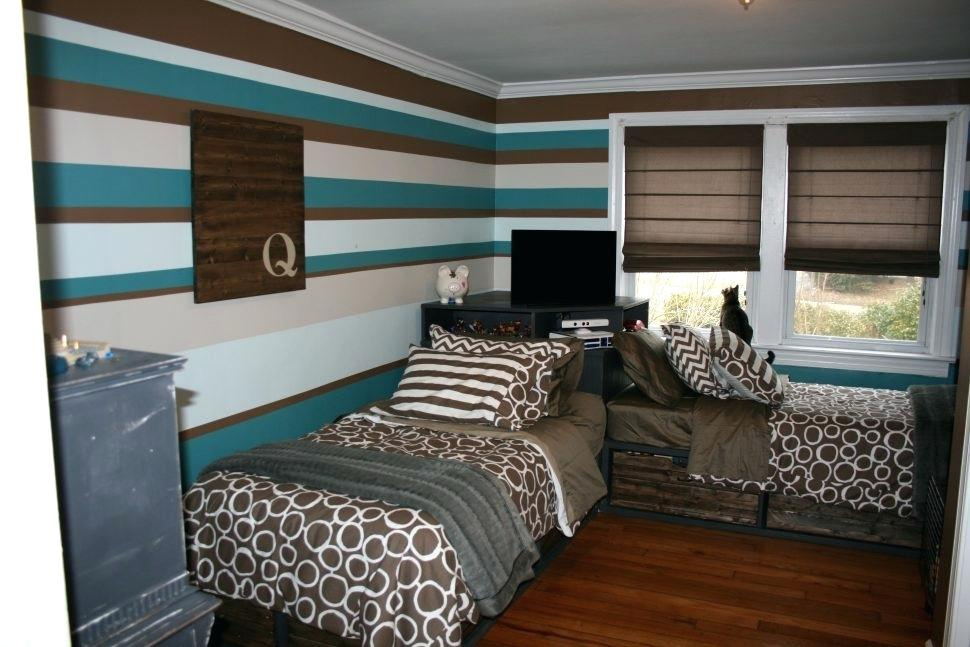 Image of: Corner Twin Beds with Storage Ideas