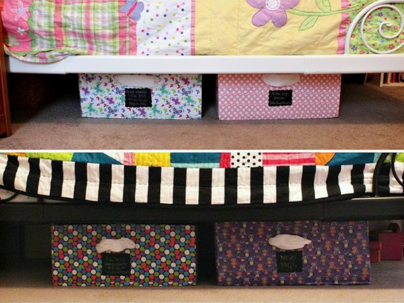 Image of: Creative Under Bed Storage Decors