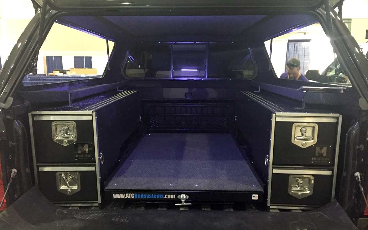 Picture of: Custom Pickup Bed Storage
