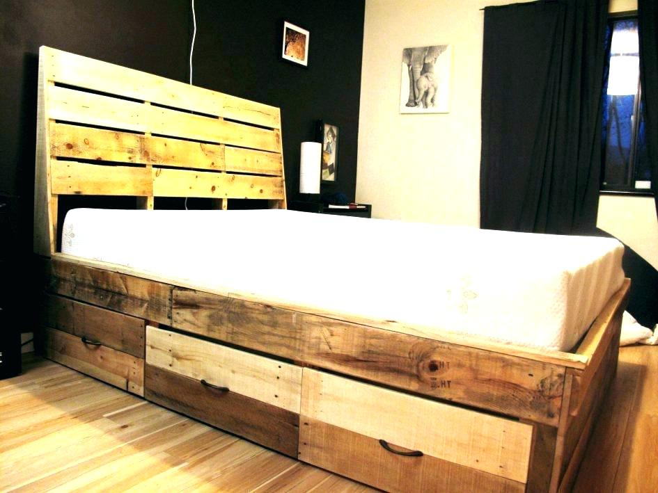 DIY King Platform Storage Bed Plans