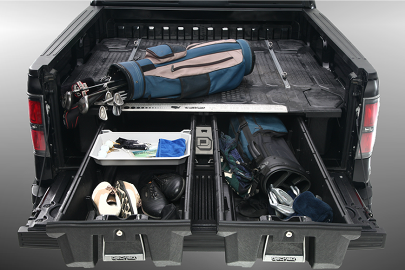 Image of: Decked Compact Truck Bed Storage System