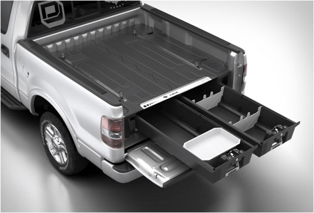 Picture of: Decked Pickup Bed Storage