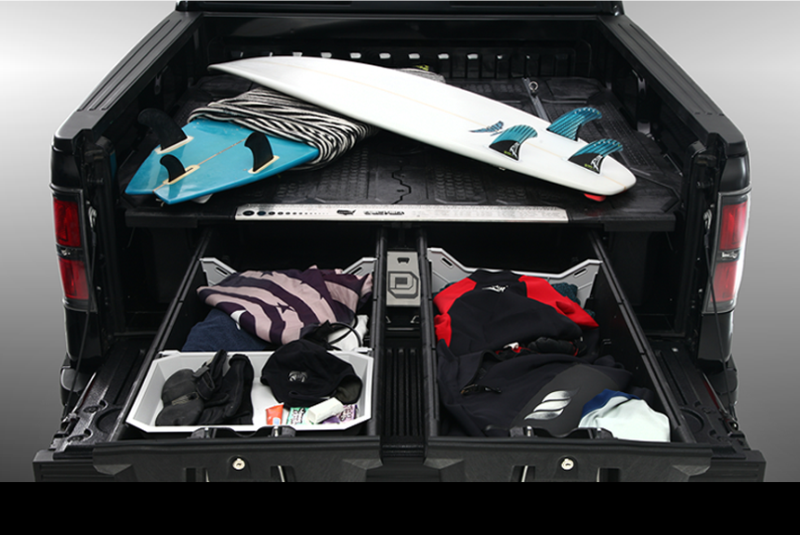 Image of: Decked Truck Bed Storage And Organizer Unit