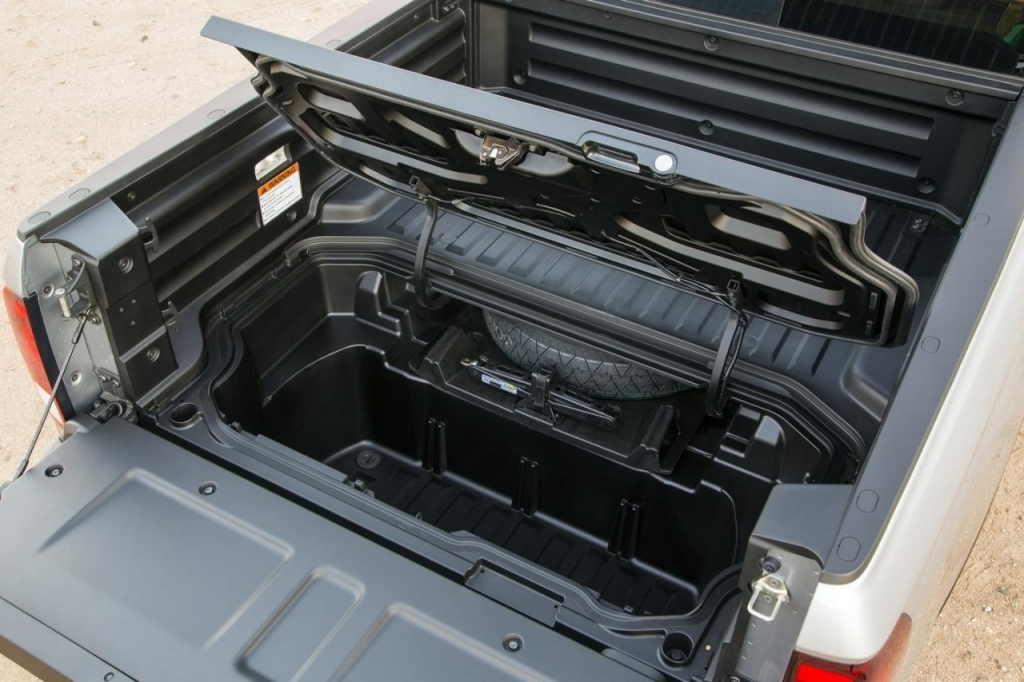 Image of: Decked Truck Bed Storage Part