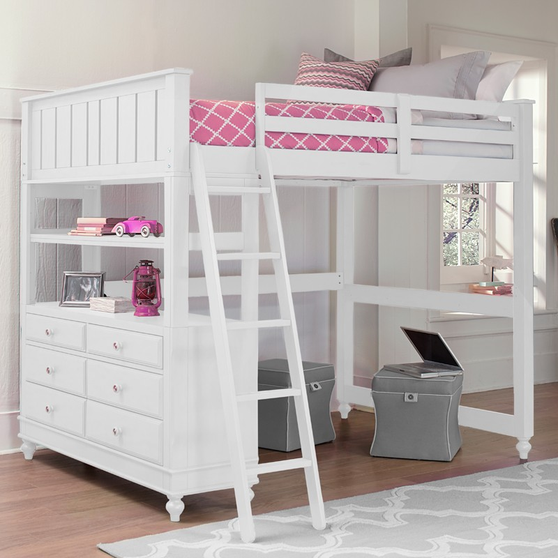 Picture of: Decorate Kids Bunk Beds with Storage