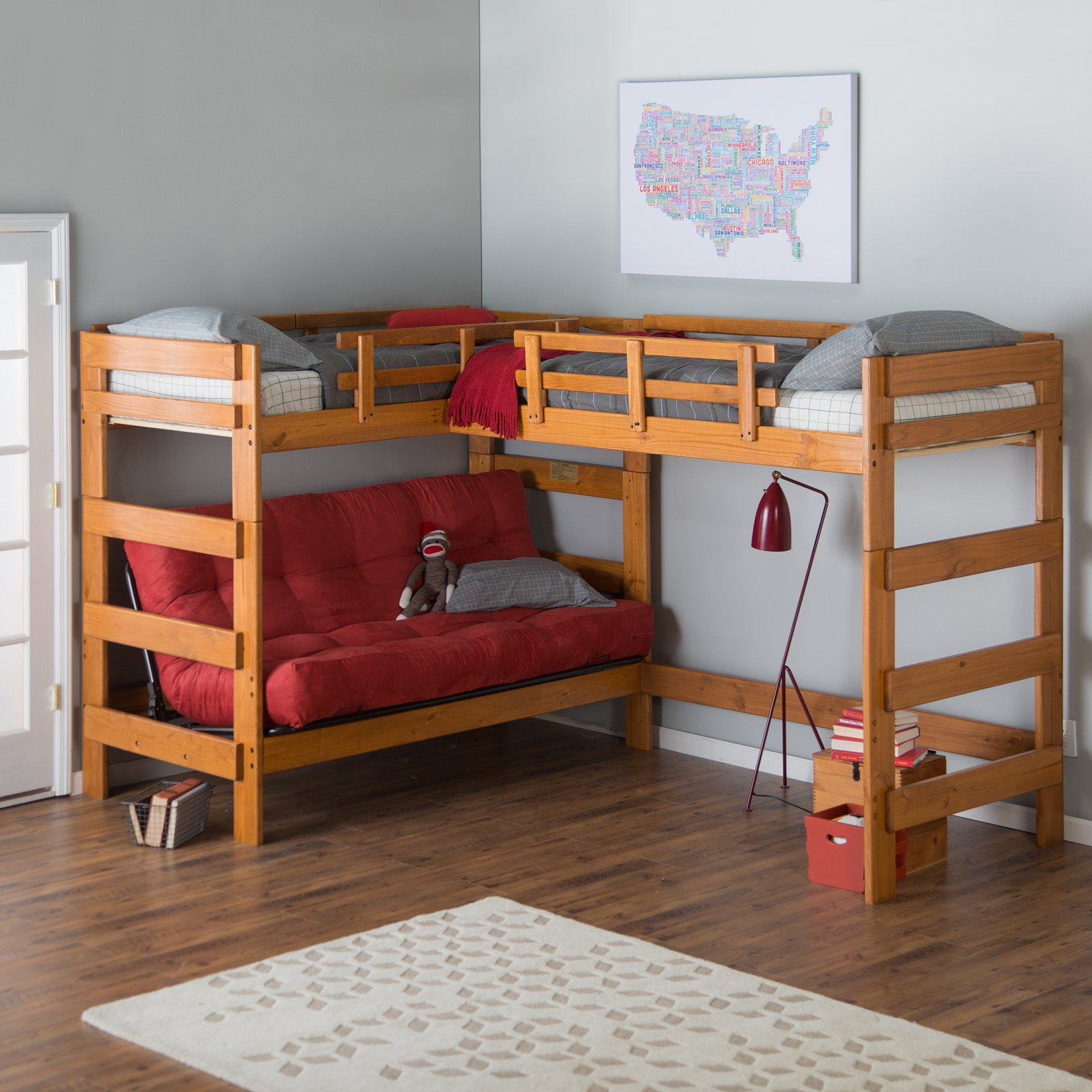 Diy Storage Bunk Beds