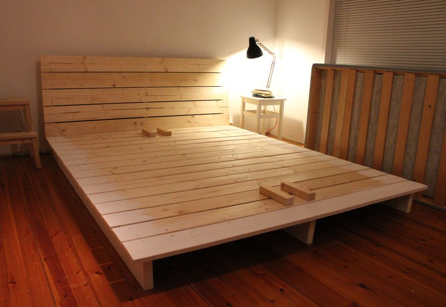 Image of: Diy Twin Bed Frame With Storage Lowes