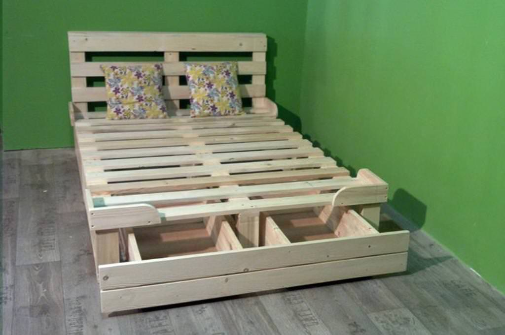Image of: Diy Twin Bed Frame With Storage Popular
