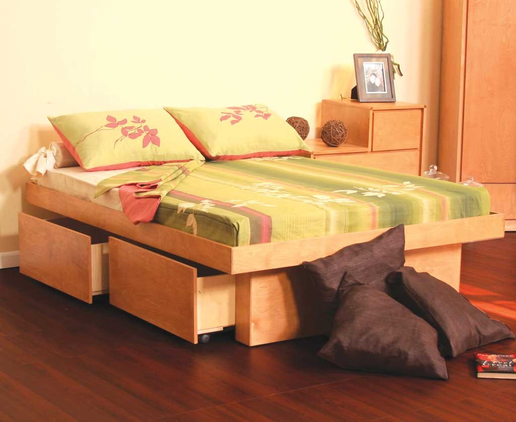 Diy Twin Bed Frame With Storage System