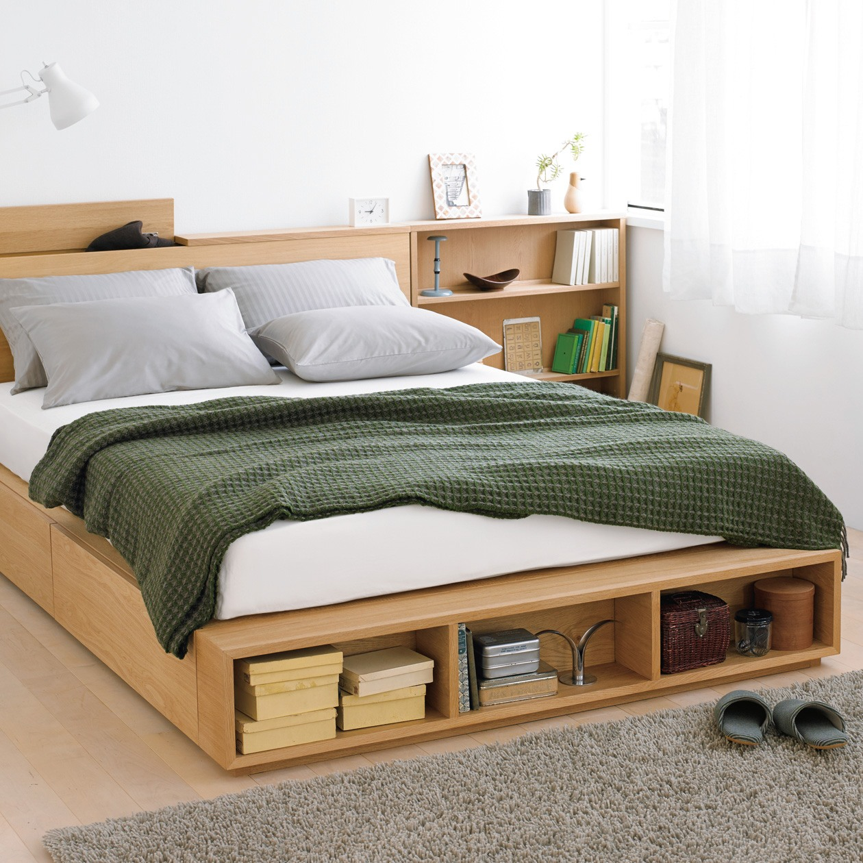 Picture of: Easy Diy Platform Bed with Storage Plans