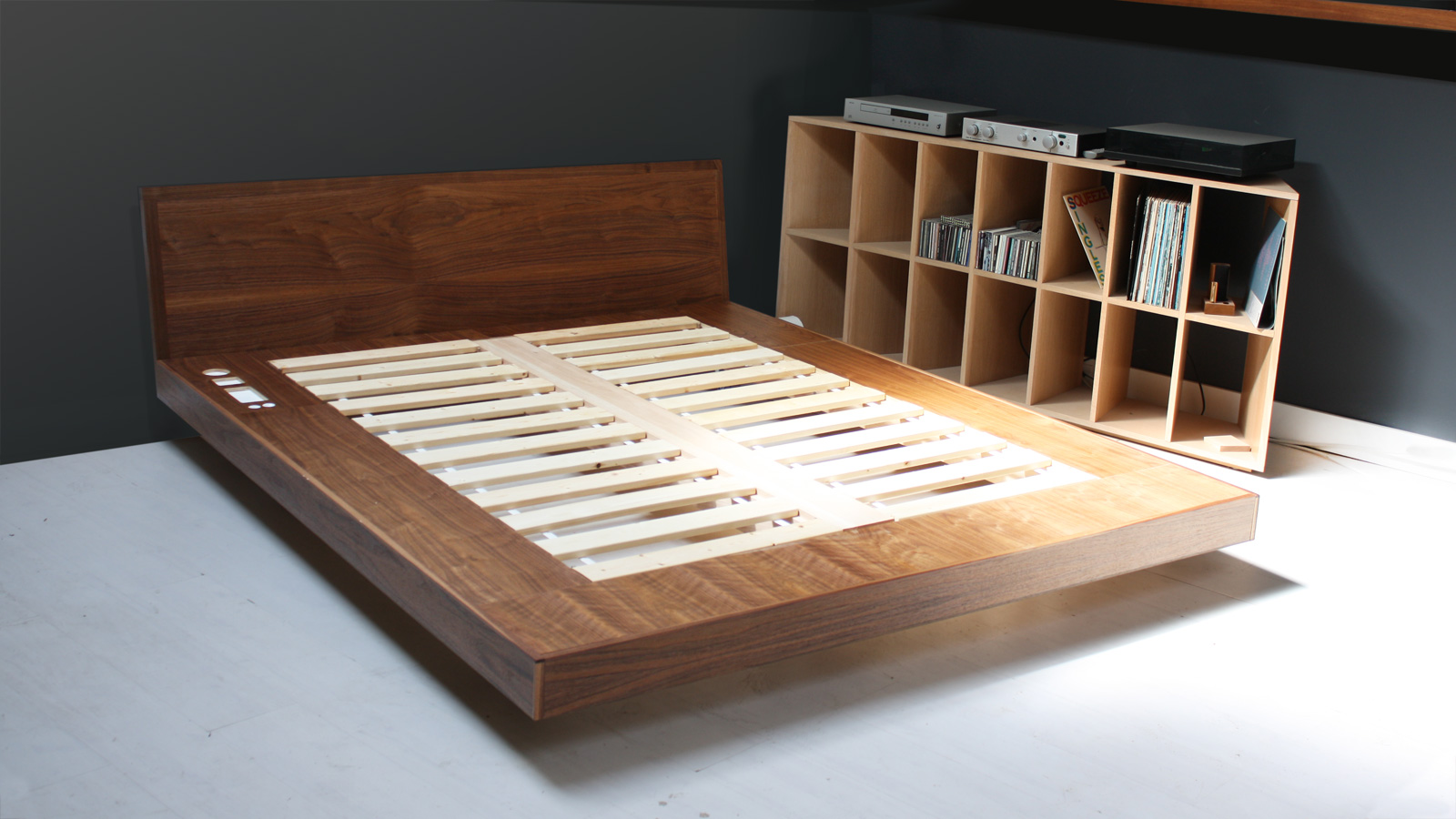 Easy Platform Storage Bed Plans
