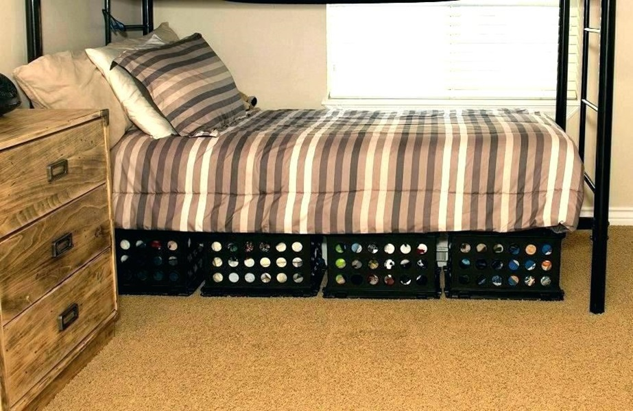 Image of: Easy Under Bed Storage Ideas