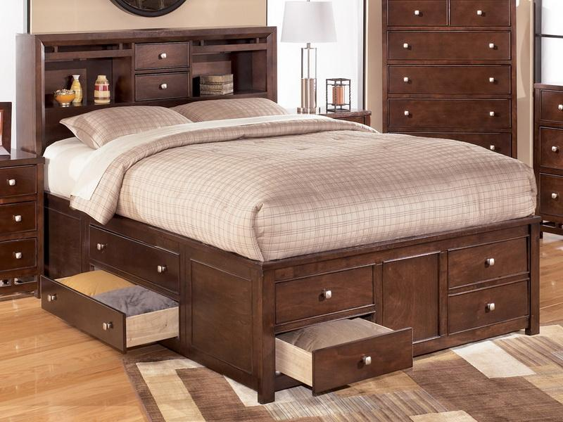 Elegant Full Storage Bed