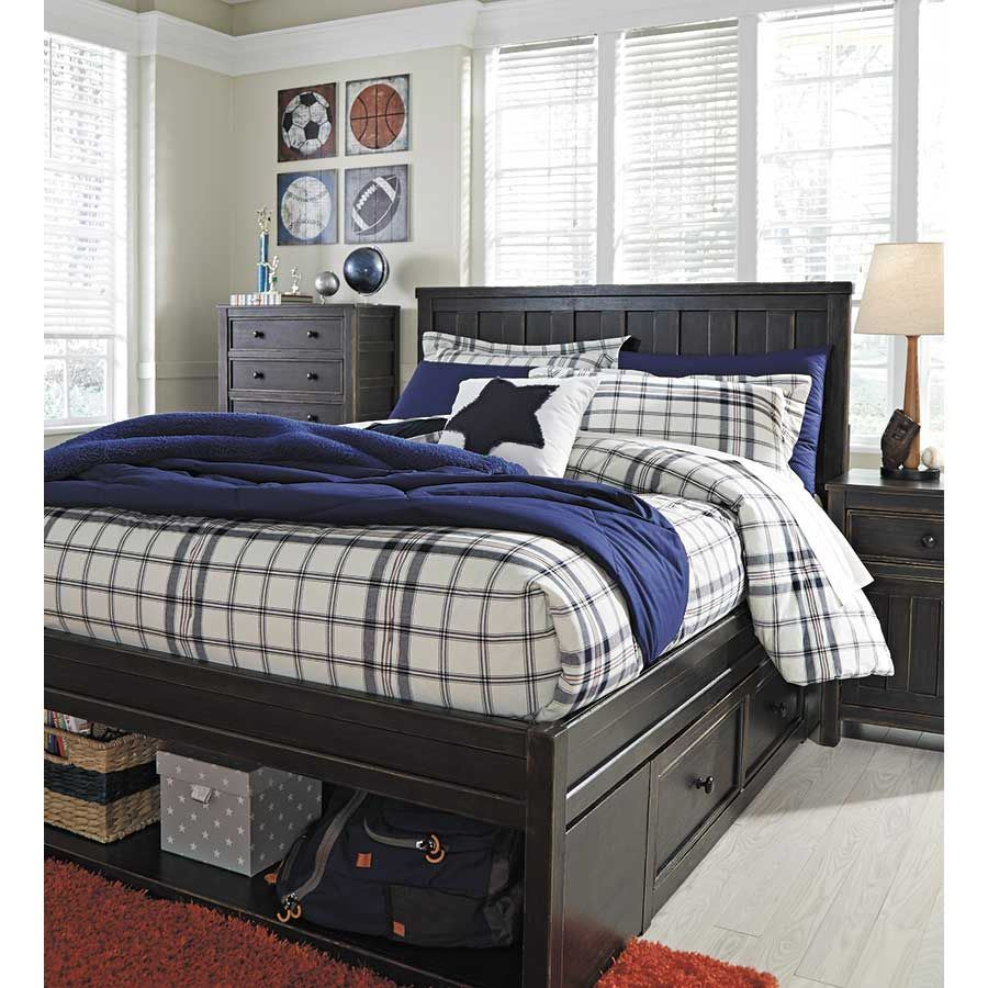 Picture of: Full Ashley Furniture Storage Bed