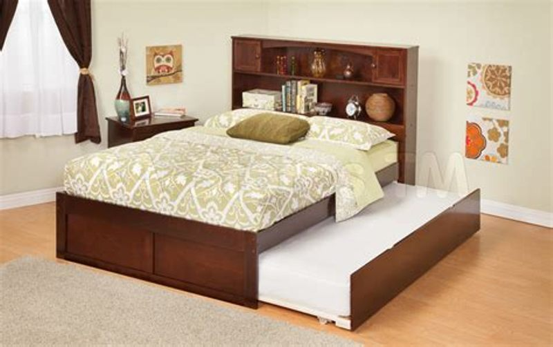Picture of: Full Bed With Trundle And Storage