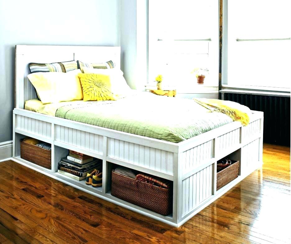 Image of: Full Beds With Storage Storage