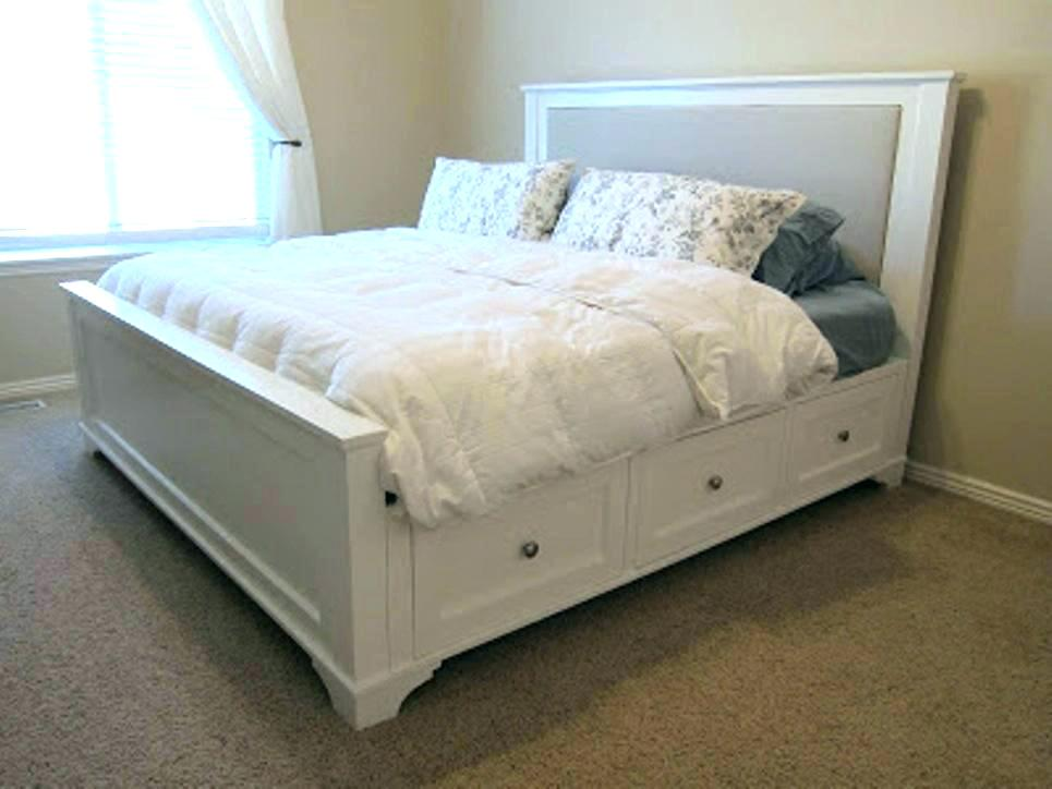 Full Size Beds With Storage and Chaise