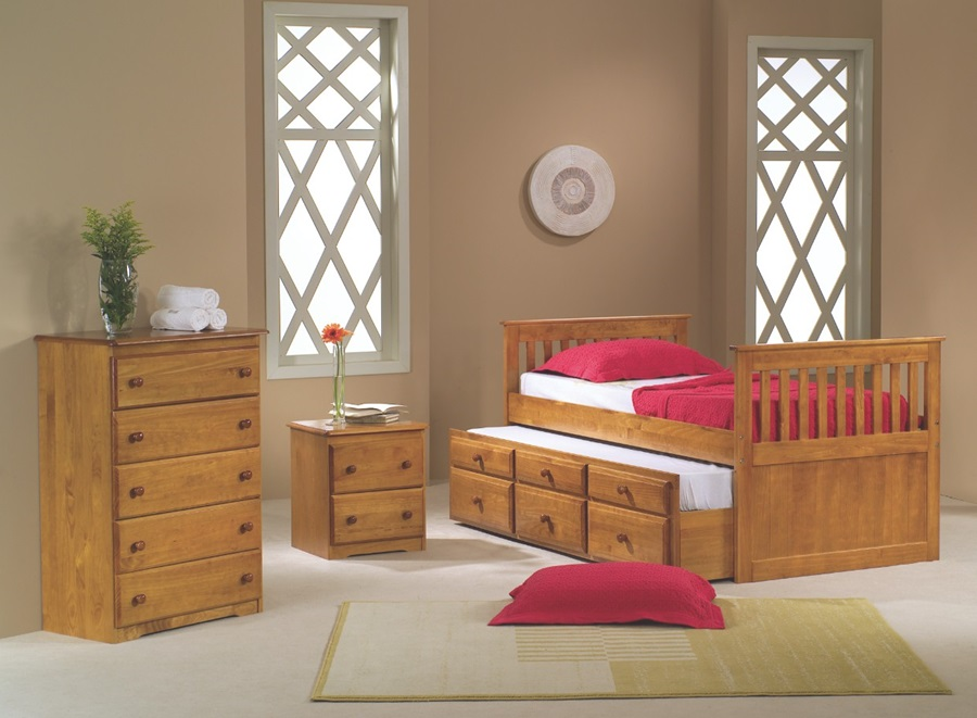 Image of: Full Size Captains Bed With Storage Sets