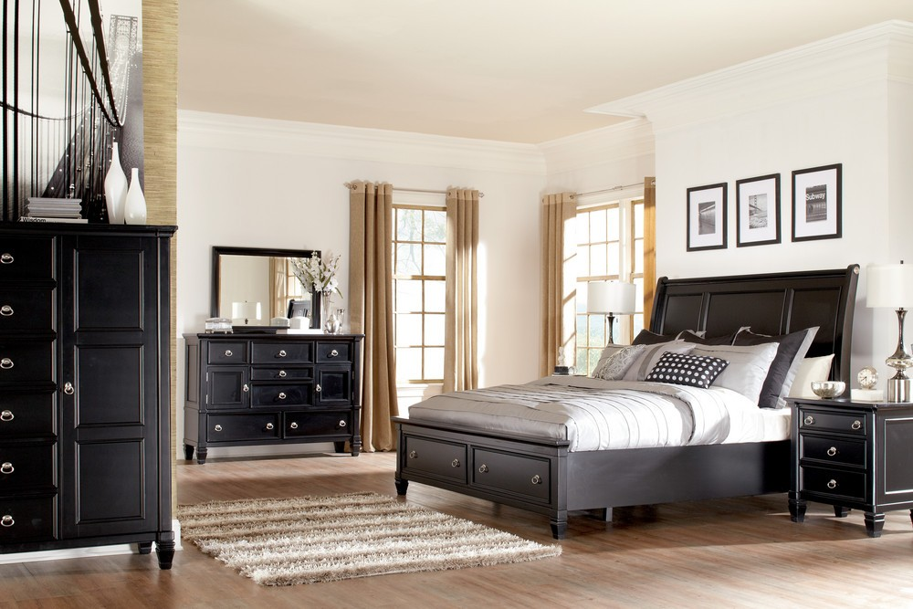 Picture of: Full Size Storage Bed Sets Ideas