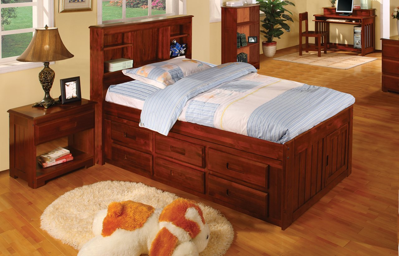 Picture of: Furniture Captain Bed With Storage
