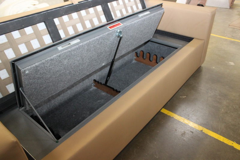 Image of: Gun Storage Under The Bed In An Rv