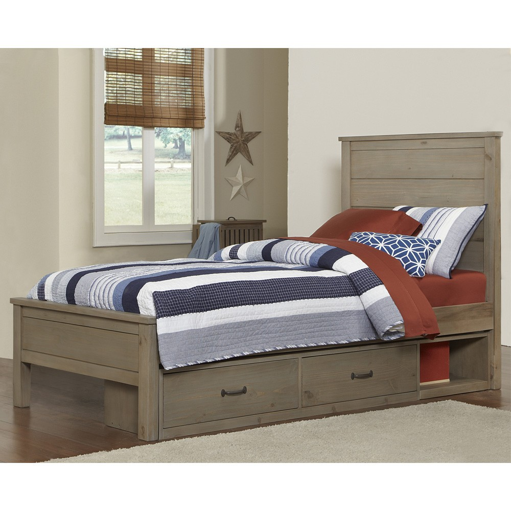 Picture of: High-End Twin Storage Bed