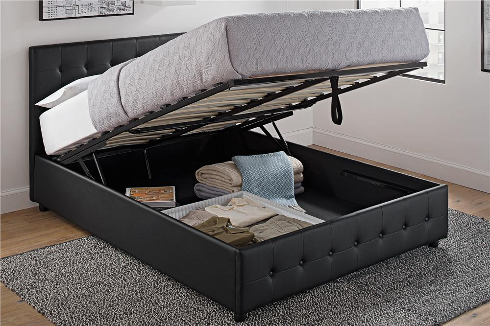 Image of: Hydraulic Lift Storage Bed Awesome
