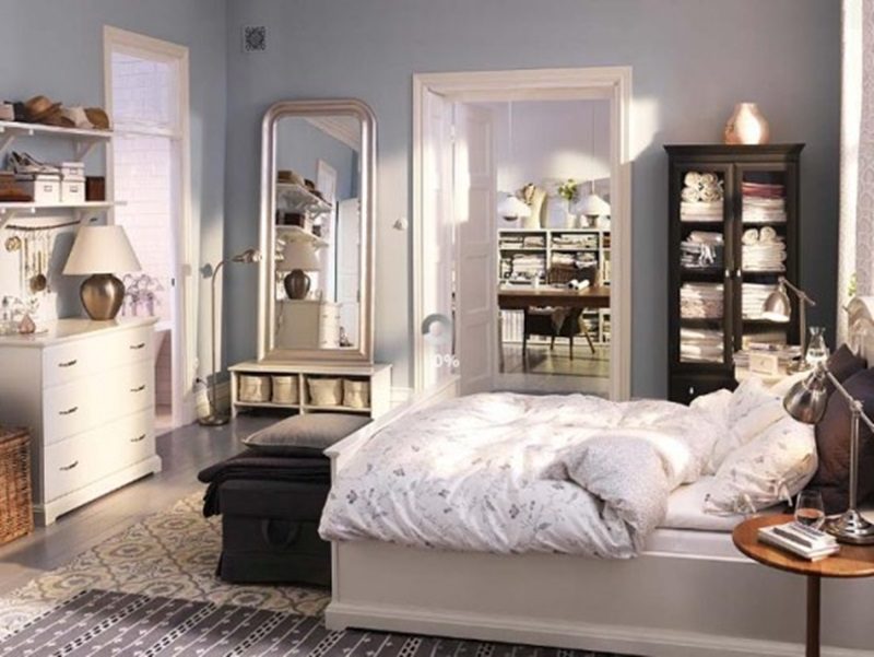 Image of: Ikea Beds With Storage Indoor