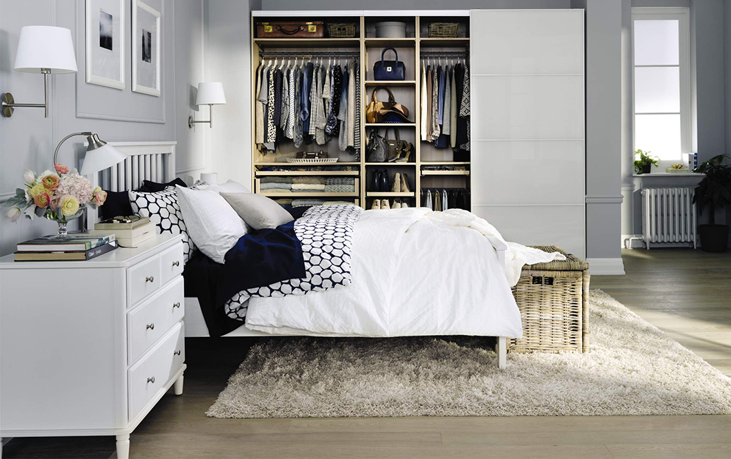Image of: Ikea Beds With Storage Sets