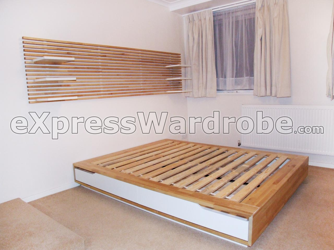 Image of: Ikea Storage Bed Frame Ikea