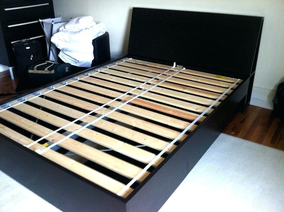 Image of: Ikea Storage Bed Frame Queen