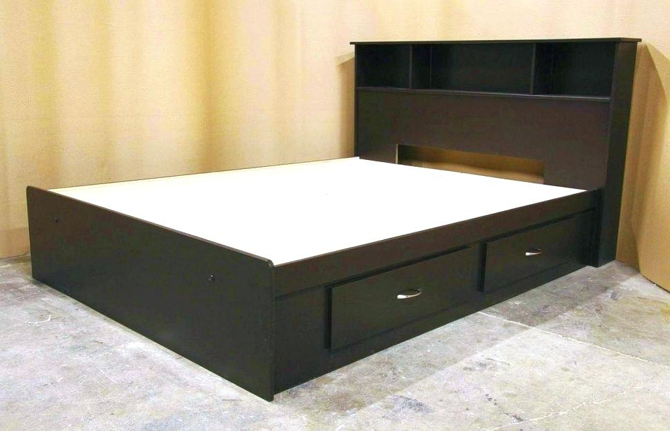 Image of: Ikea Storage Bed Frame Twin