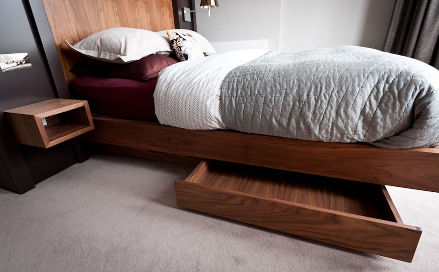 Ikea Storage Bed Hack Wood