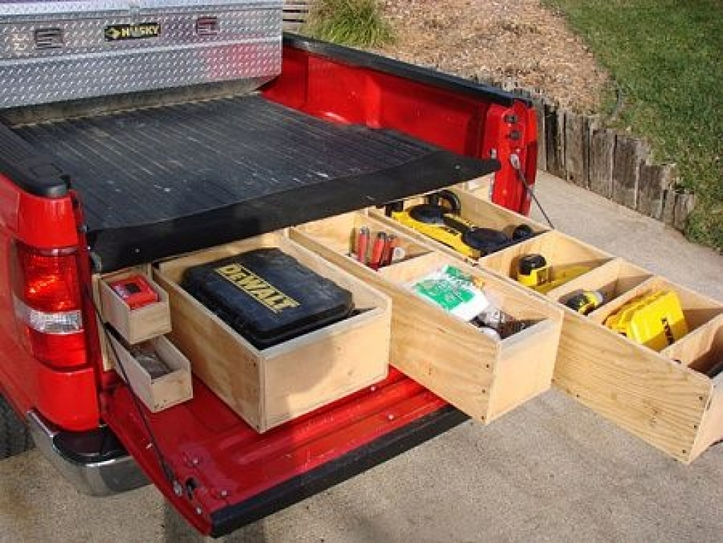 Picture of: Interest Pickup Bed Storage