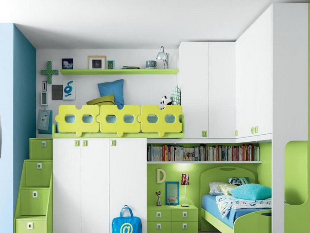 Kids Loft Bed With Storage Sheets