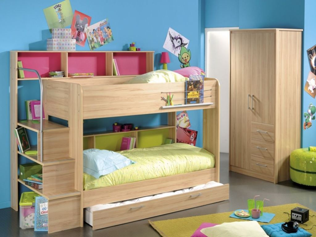 Image of: Kids Loft Bed With Storage with Storage