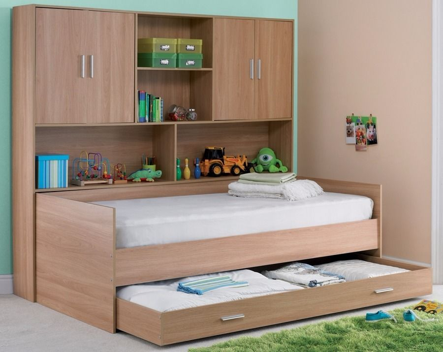 Picture of: Kids Over Bed Storage