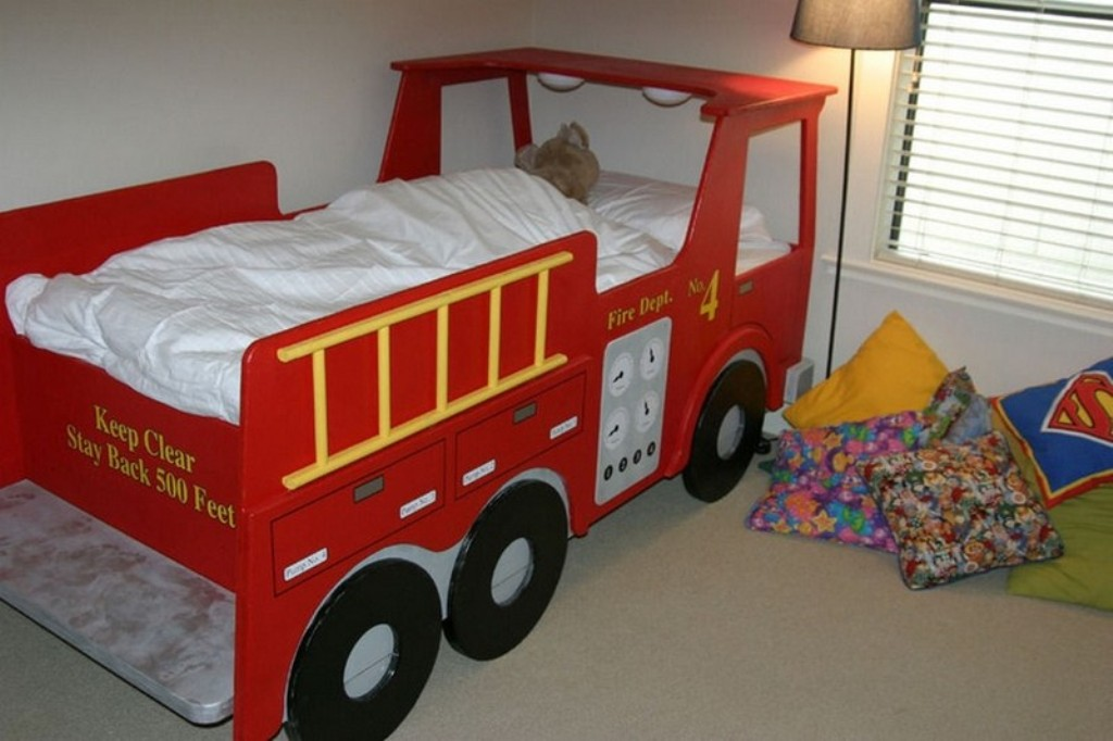 Image of: Kids Truck Bed Storage Containers