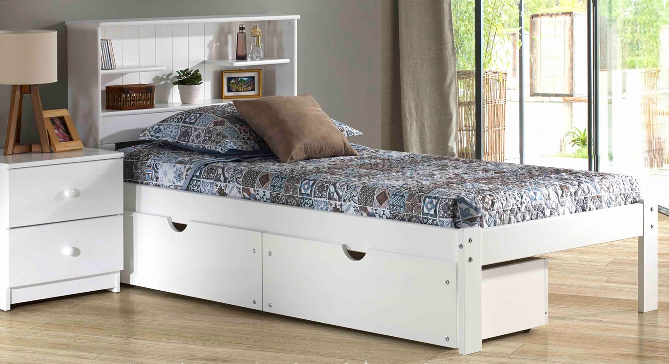 Image of: King Beds with Storage Stylish