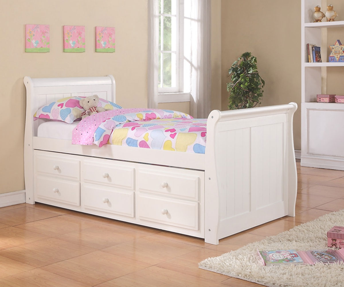 Image of: King Size Bed with Storage Paint