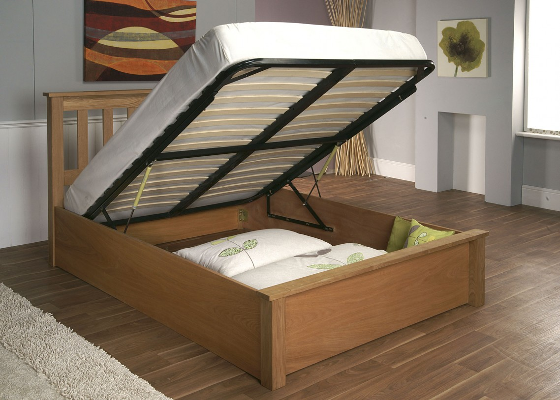 Picture of: King Storage Bed Frame Info