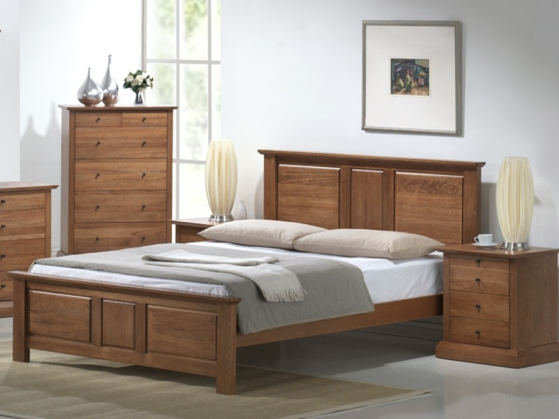 Picture of: King Storage Bed Frame Set