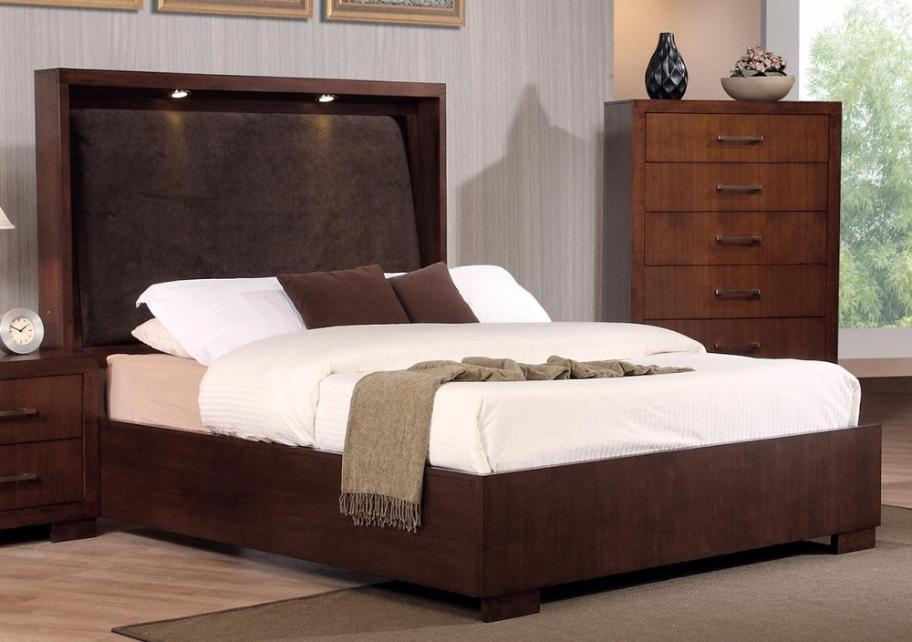 Picture of: King Storage Bed Frame Wood