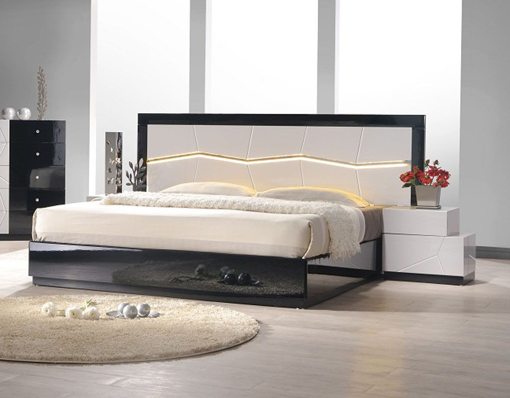 Large Modern Storage Bed