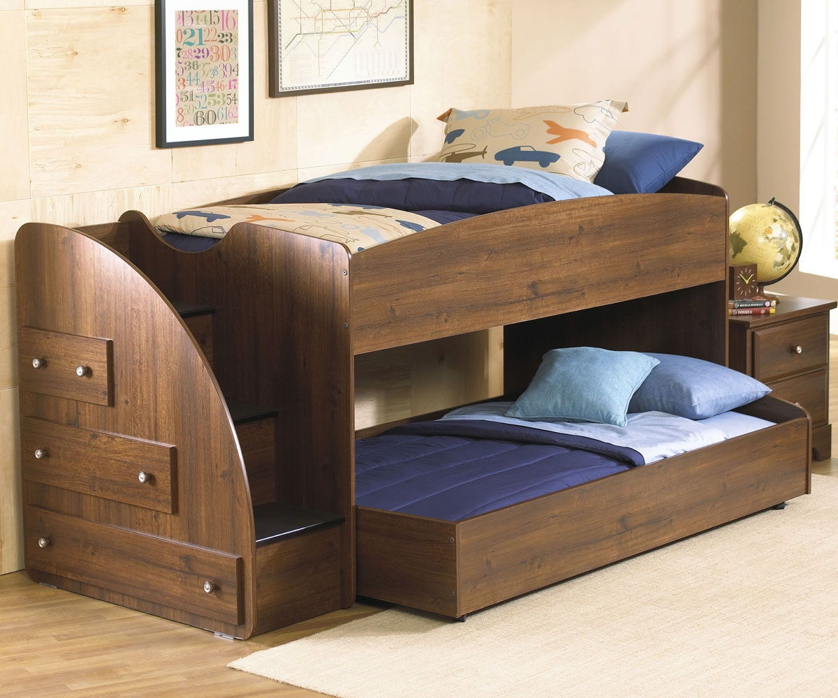 Picture of: Loft Beds with Storage Design