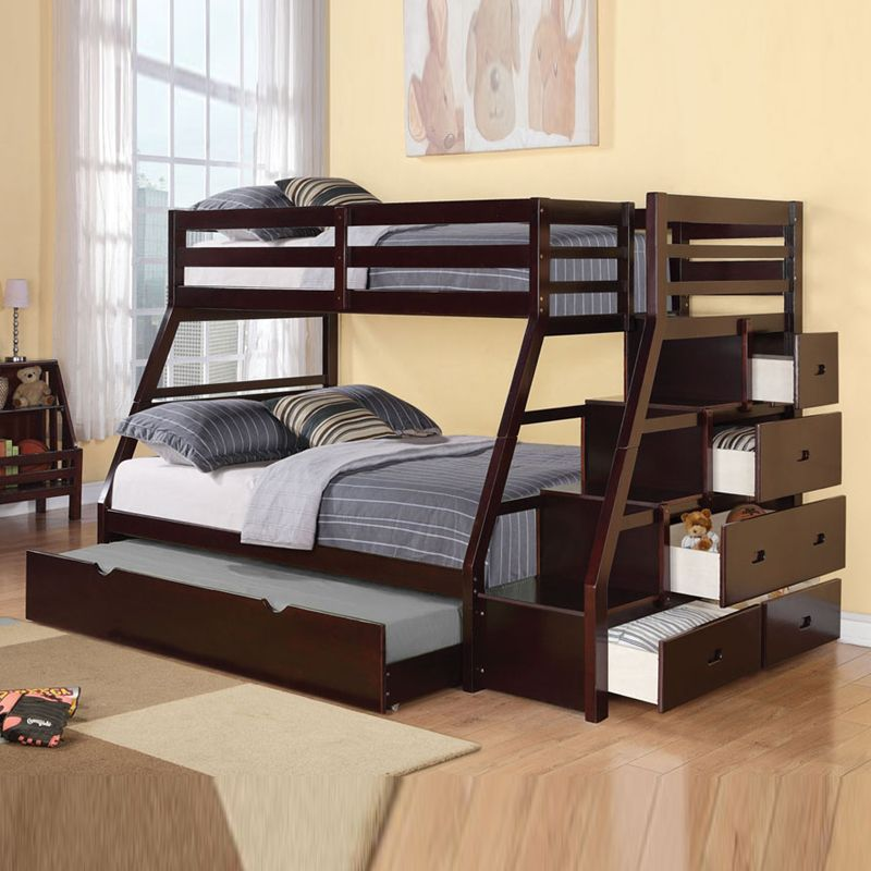 Picture of: Loft Beds with Storage Paint