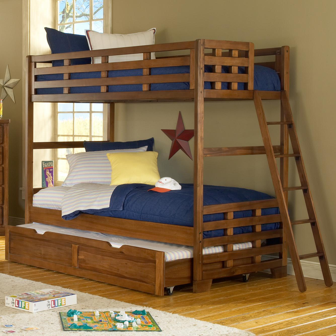 Loft Beds with Storage and Ladder