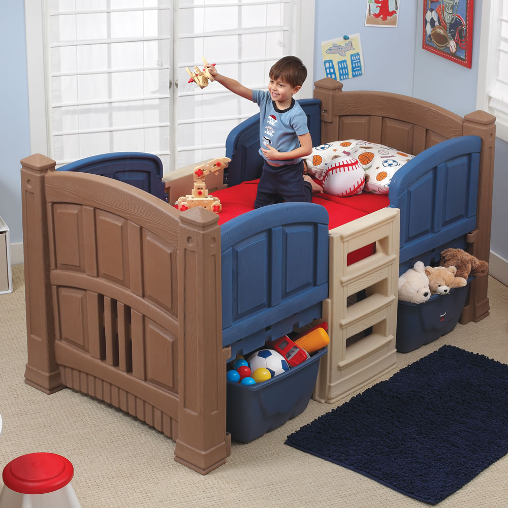 Picture of: Loft Twin Storage Bed